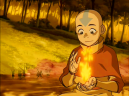 Aang learns he can Firebend