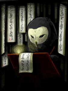 Wan Shi Tong<br />Universal Cyberspace<br />Spirit Library http://avatar.wikia.com/wiki/Wan_Shi_Tong