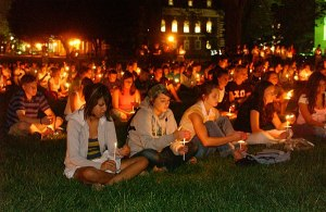 Disrupted Candlelight Vigil Exorcism – Right Speech – organised by Buddhists Questioning Bodu Bala Sena