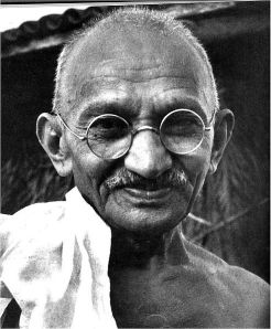 Mahatma Gandhi Photo credit: wikiquote